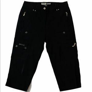 Jamie Sadock Black Skinnylicious Crop Pants